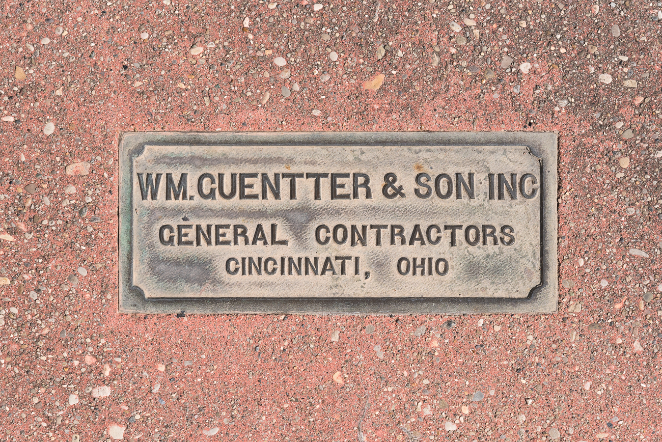 The general contractor, William Guentter & Sons Inc., built the Gateway Sculpture to Bicentennial Commons in 1988. / Image: Phil Armstrong, Cincinnati Refined // Published: 5.15.18