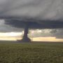 VIDEO: Large tornado touches down near Laramie, Wyoming