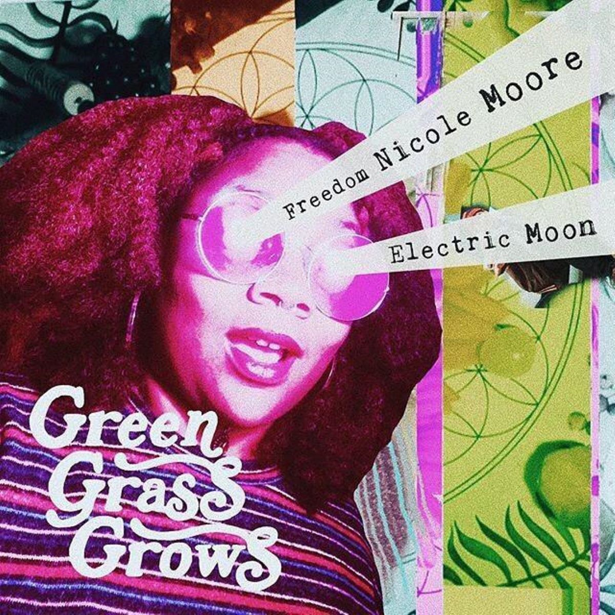 """Green Grass Grows"" is groove-heavy, soulful, chill, and lovely. If you love artists like Erykah Badu or Jill Scott, you are going to want to listen to this magic music. / Image courtesy of the artist // Published: 3.30.20"