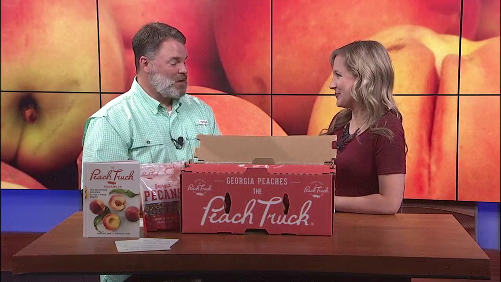 The Peach Truck comes to Ohio and makes stops in the Miami