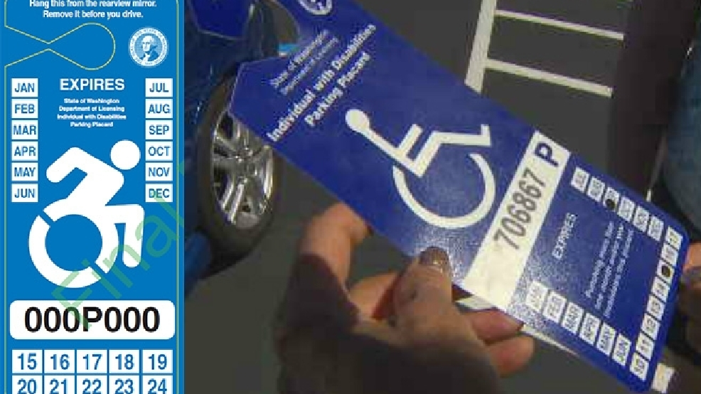 Disabled driver finds frustration in state's new placard law