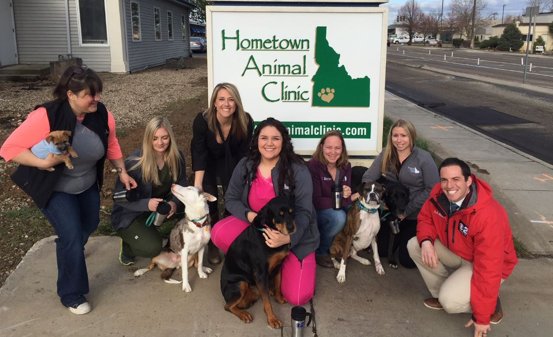 Mugshot Mondays: This week's winner is Hometown Animal Clinic in Boise! We helped deliver free Dutch Bros. Coffee and KBOI mugs! Want your business to be next? Enter: http://bit.ly/1UoKo3X