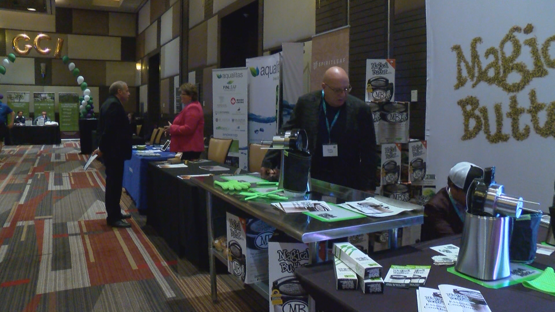 As more states like Nevada legalize marijuana, the industry is teeming with new ideas and innovative products. On Monday, cannabis entrepreneurs gathered at the M Resort in hopes of landing big investors. (KSNV)