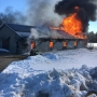 Fire rips through barn at Timber Ridge Farm in Saco, 3 dogs unaccounted for