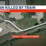Man struck and killed by train identified