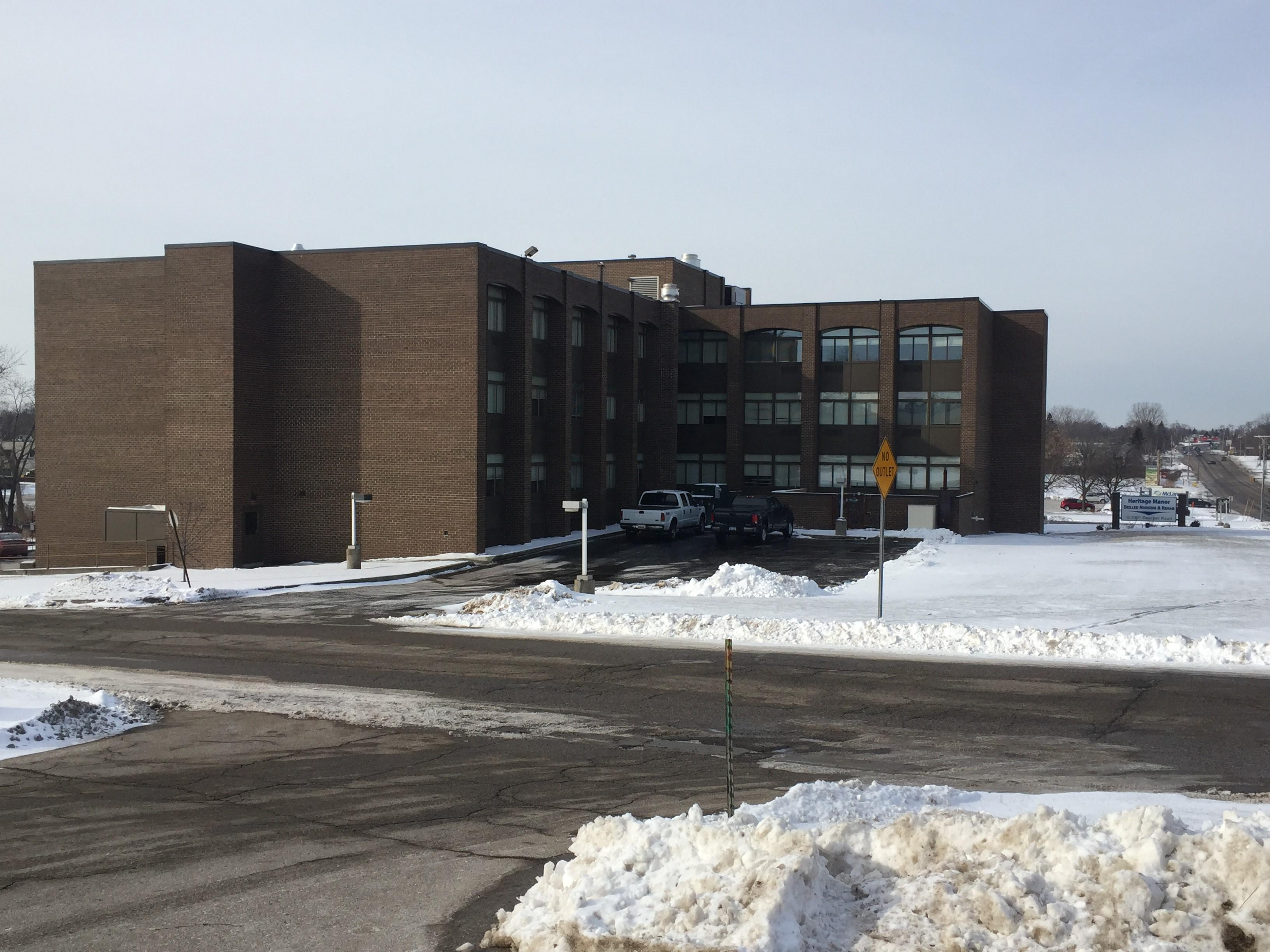 Genesee County Health Department confirms they are currently investigating one case of Legionella disease at the Heritage Manor Healthcare Center on Beecher Road in Flint. (WEYI/WSMH)
