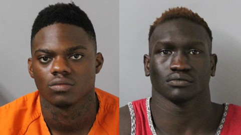 Dequane Easley and Khamis Yugusuk are charged in a shootout at Nashville Walgreens parking lot. (WZTV)