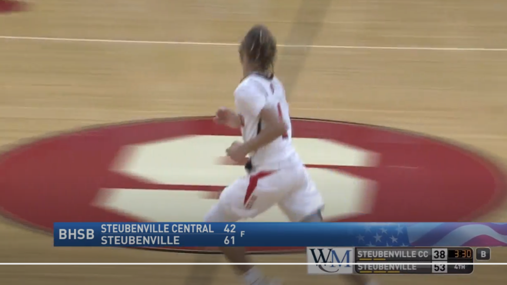 1.10.20 Highlights - Steubenville vs. Catholic Central - Boys high school basketball