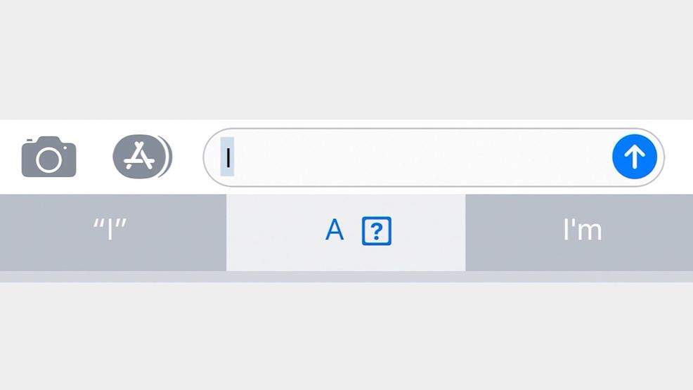 "iphone glitch won't let users type the letter ""i"" 