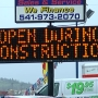Highway 62 construction hurting businesses