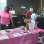 Making Strides Against Breast Cancer walk open house