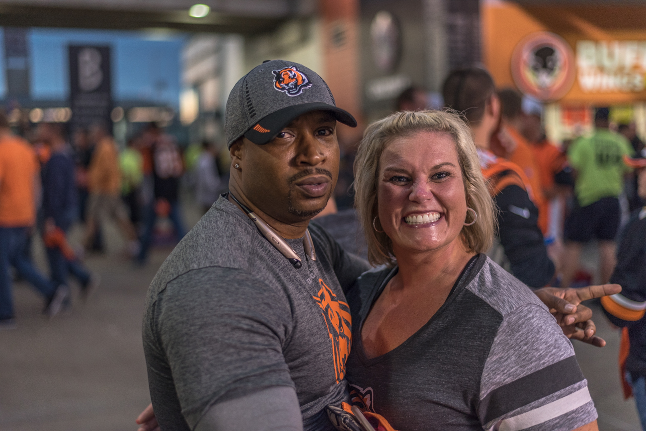 The Bengals lost 13-9 to the Houston Texans on Thursday night, September 14 at Paul Brown Stadium. And while another Bengals loss is always a difficult pill to swallow, at least our fans know how to rock a sweet tailgate. / Image: Mike Menke // Published: 9.15.17