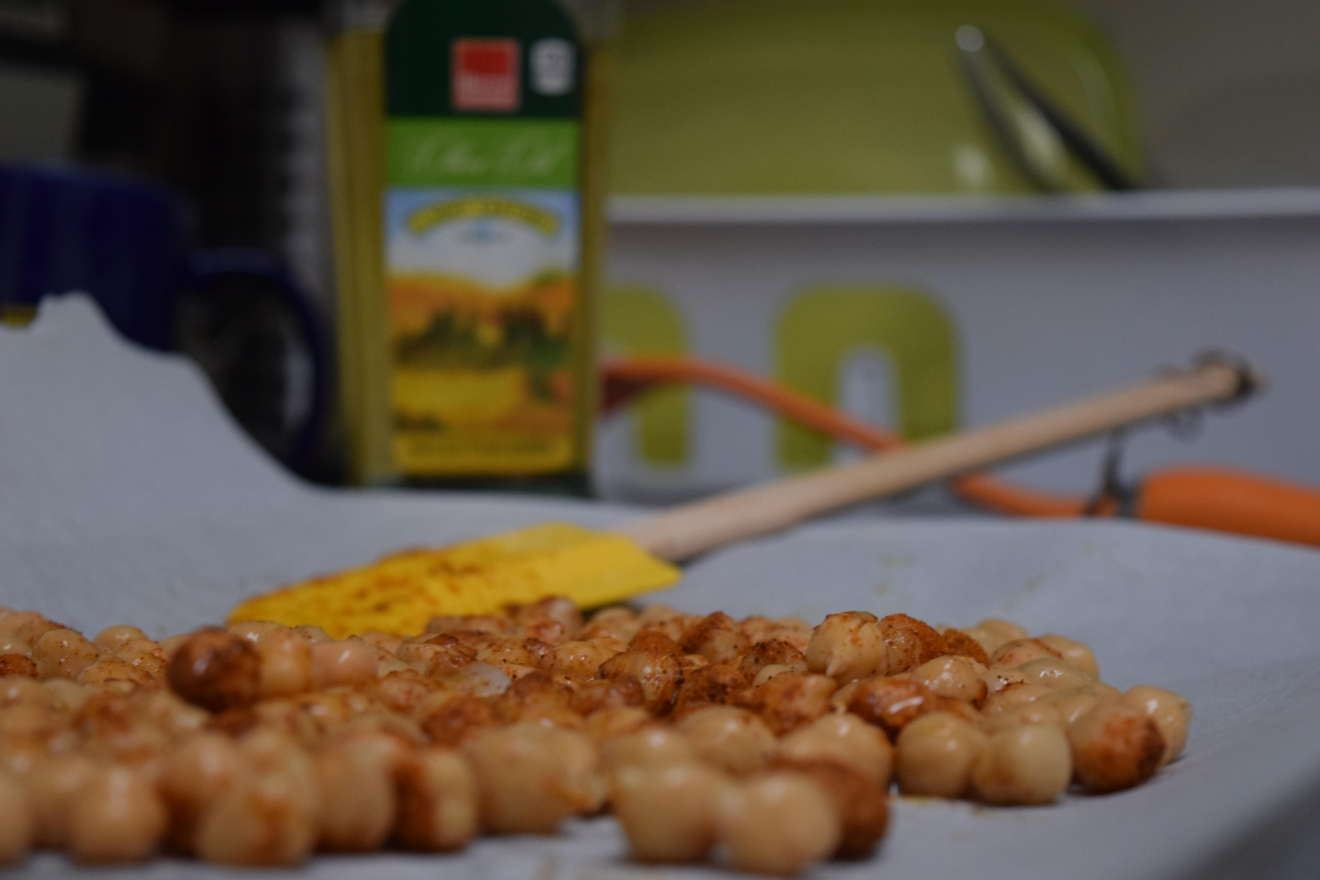 Chickpeas for the stew (Tina Irizarry/ DC Refined)