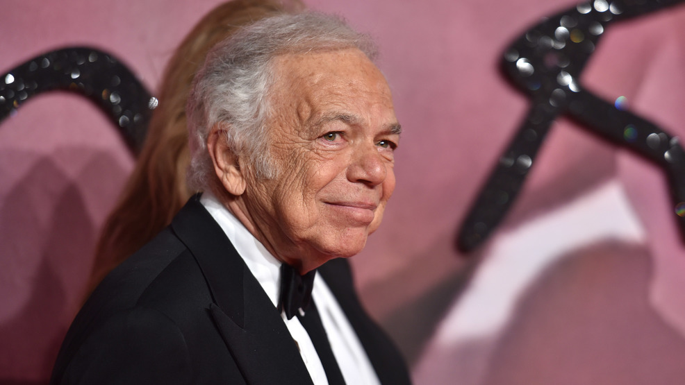 Ralph Lauren is first American fashion designer to receive honorary British knighthood