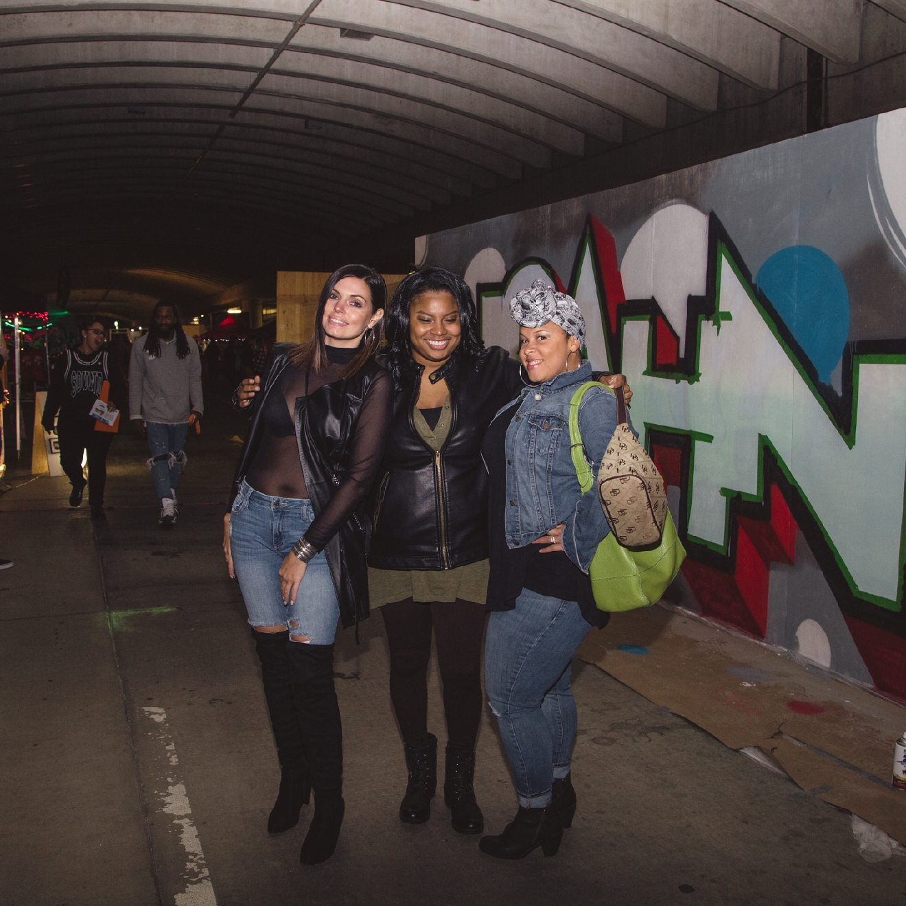 Allyson B, Michelle Walker and Crystal W. / Image: Catherine Viox / Published: 10.21.16