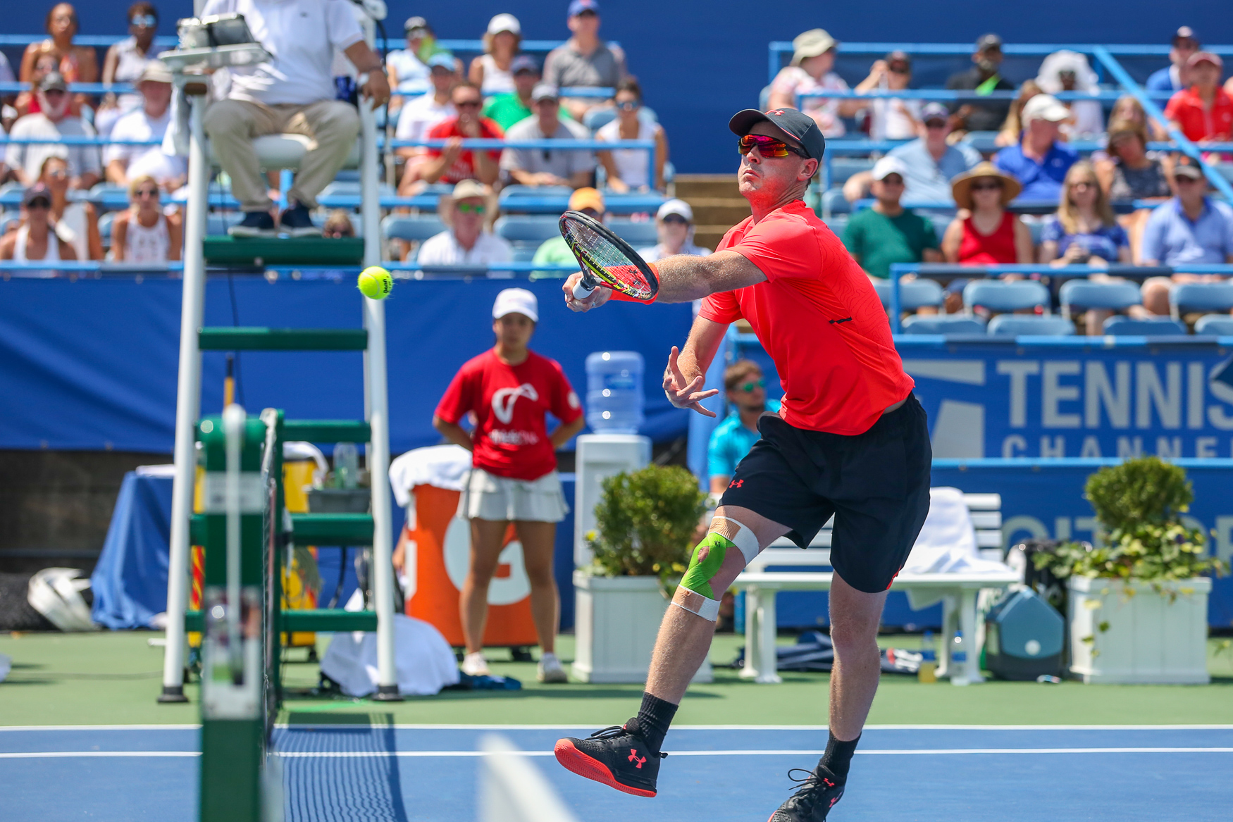 The annual Citi Open tennis tournament closed on August 5 with appearances from some of the world's best athletes. For the men's doubles, Jamie Murray and Bruno Soares triumphed over Mike Bryan and{ }Édouard Roger-Vasselin. Bryan holds the world record for the most Grand Slam titles, but graciously accepted the second-place trophy. (Amanda Andrade-Rhoades/DC Refined)
