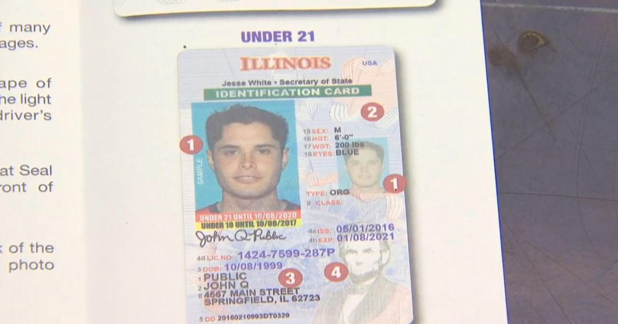 Facial imaging and drivers licenses