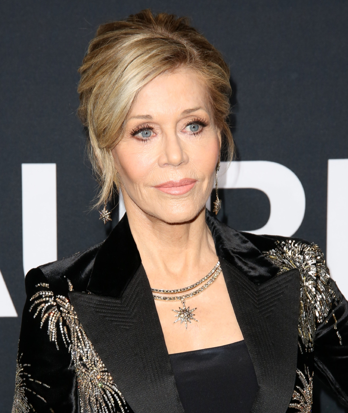 Saint Laurent at Hollywood Palladium - Arrivals  Featuring: Jane Fonda Where: Los Angeles, California, United States When: 10 Feb 2016 Credit: Brian To/WENN.com