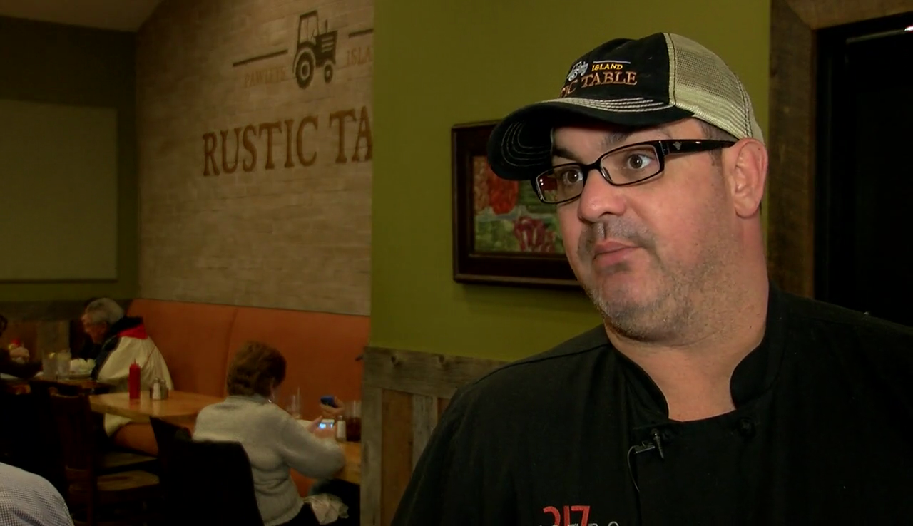 Adam Kirby, the Head Chef and co-owner of Bistro 217 & Rustic Table in Pawleys Island, was selected as a S.C. Chef Ambassador. (WPDE)