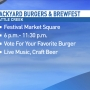 Battle Creek to host Backyard Burgers & Brewfest Saturday night