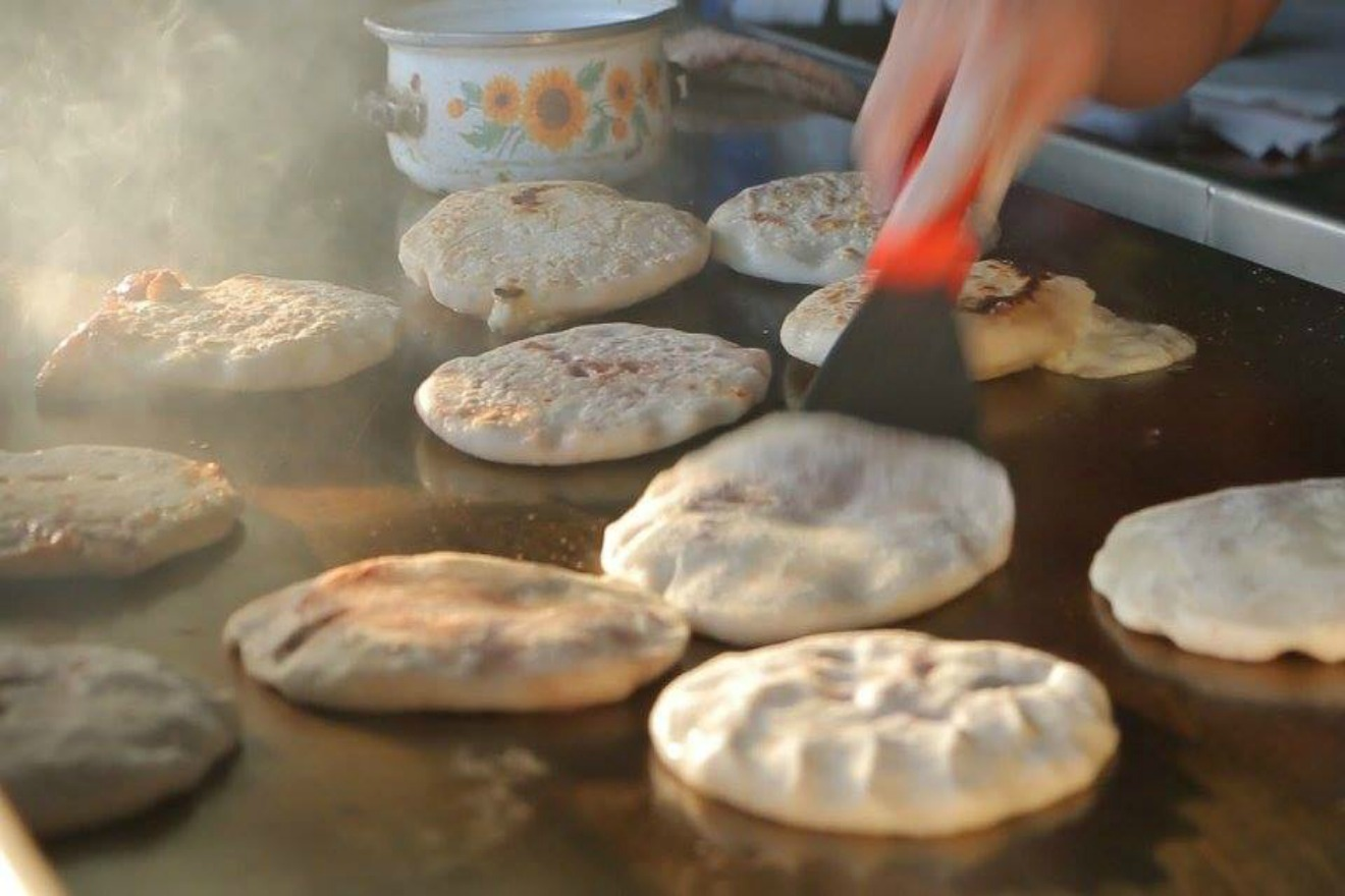 The pupusas at Berta's Salvadoran Kitchen are gorgeous- handmade fresh every day.  Often by Berta herself! (Photo Courtesy: Berta's Salvadoran Kitchen Facebook Page)