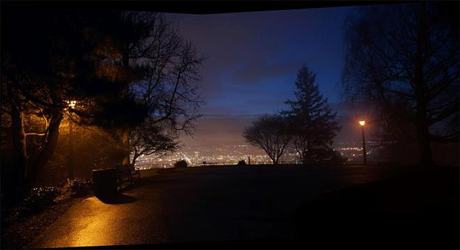 Foggy morning from Pittock Mansion in Portland (Photo Courtesy: Mike Nelson)