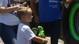 'Monster' wish come true for 5-year-old with leukemia