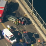 3 injured in crash on Aurora Bridge