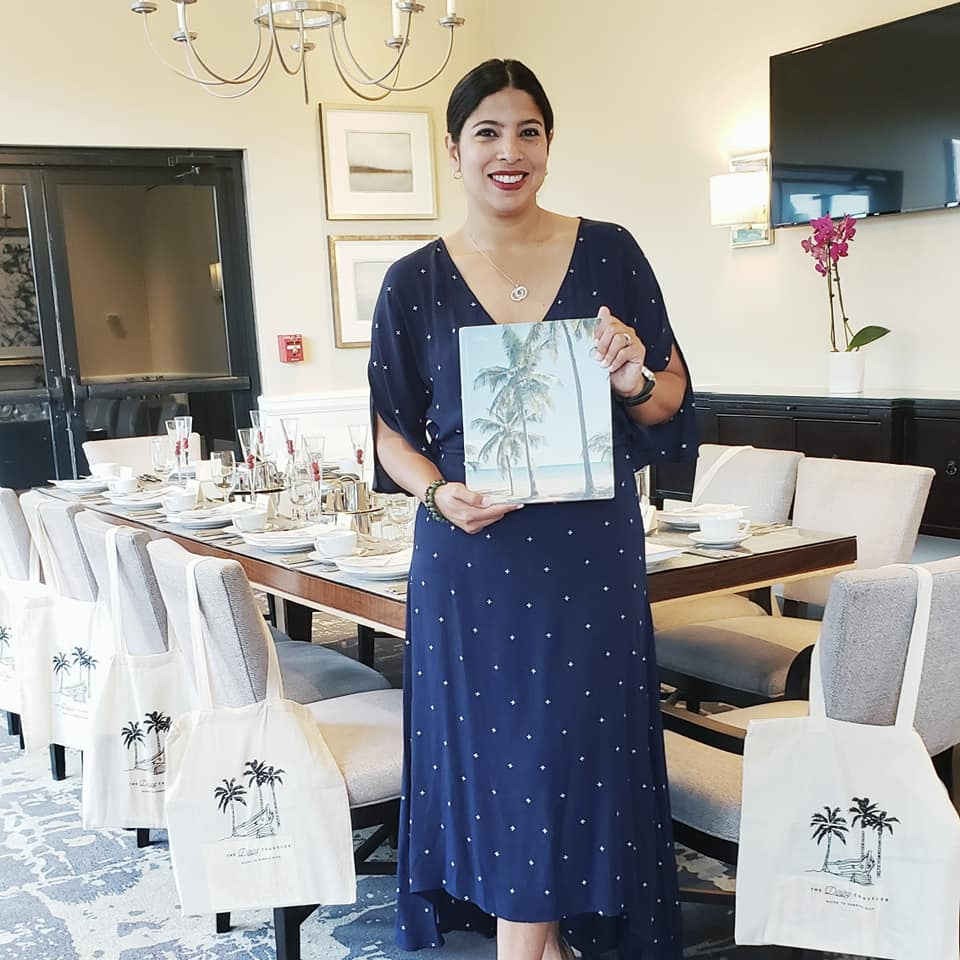 "Join local author Jessica van Dop DeJesus to celebrate the launch of her book ""Dining Traveler Guide to Puerto Rico."" (Image: Courtesy Jessica van Dop DeJesus)"