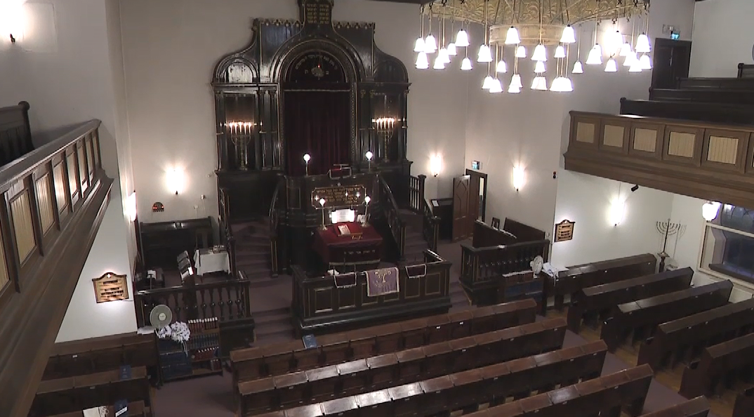 A look inside{&amp;nbsp;}Malmö, Sweden's historic synagogue (Sinclair Broadcast Group)<p></p>