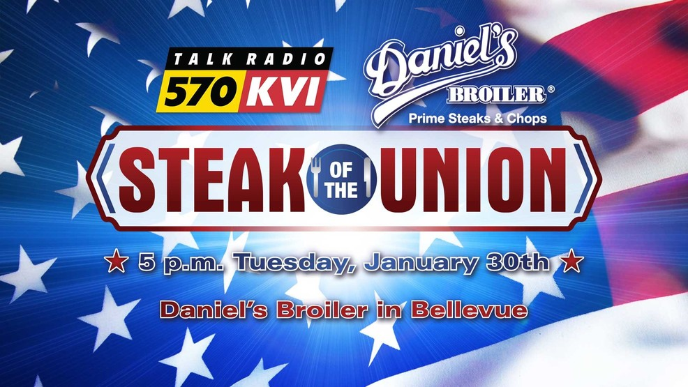 "SOLD OUT: ""Steak of the Union"" with KVI's John & Kirby"
