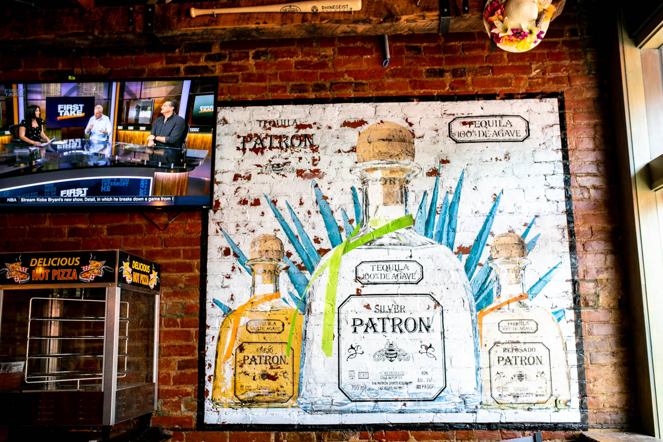 A local artist's murals cover the walls at Mac's. / Image: Amy Elisabeth Spasoff // Published: 5.29.18