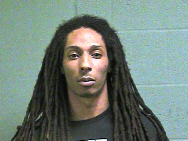Lawrence Charles Moore, 22, faces complaints of aiding and abetting prostitution, pandering, possession of a controlled dangerous substance, and possession of marijuana. (Oklahoma County Jail)