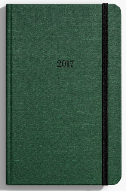 Shinola - The 12 month Runwell Planner (assorted colors) - $19.95 (MoKiMedia)