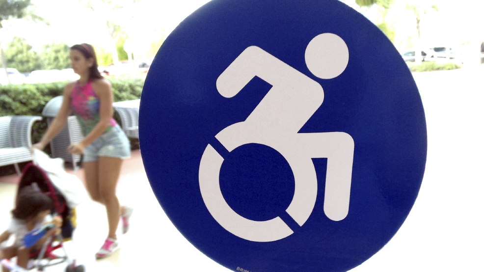 Peppier handicapped symbol gets support but problems for Mercedes benz millenia mall