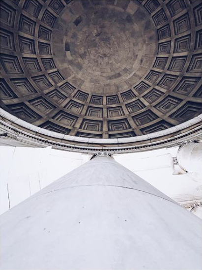 Nothing can compare to the dome of the Thomas Jefferson Memorial. (Image via @arteaga137)
