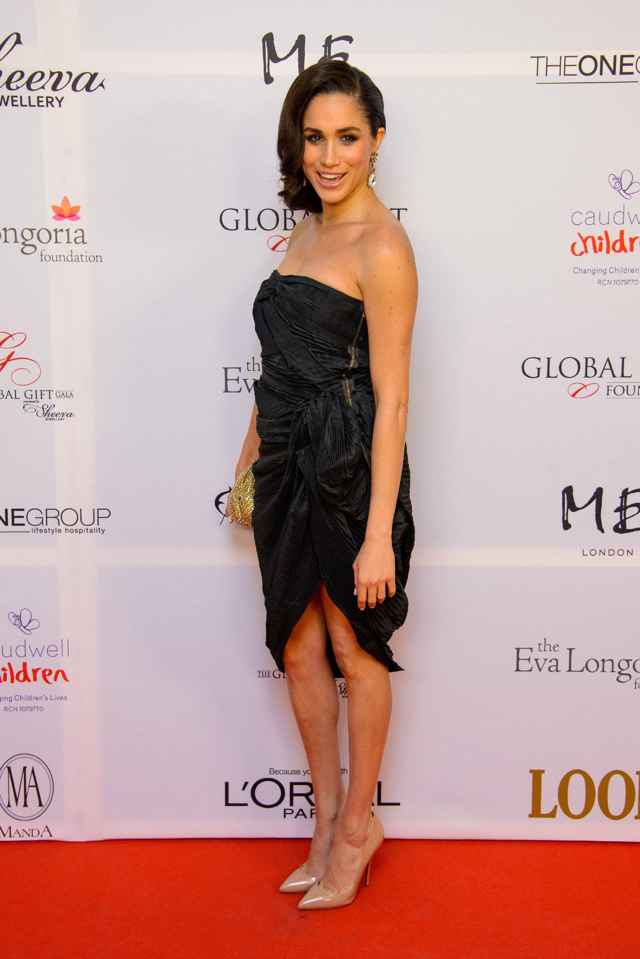 The 4th Annual Global Gift Gala held at ME hotel - Arrivals  Featuring: Meghan Markle Where: London, United Kingdom When: 19 Nov 2013 Credit: WENN.com