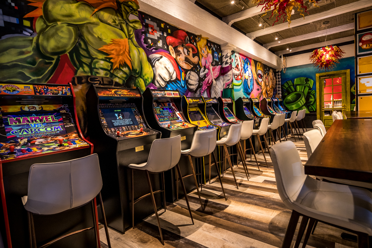 The Rookwood spot sports an arcade, as well. / Image: Catherine Viox // Published: 12.13.20