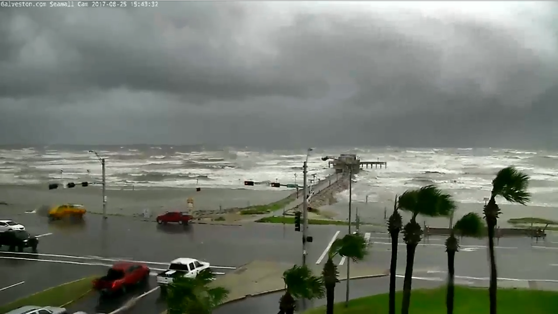 Galveston coast (KPRC/CNN)