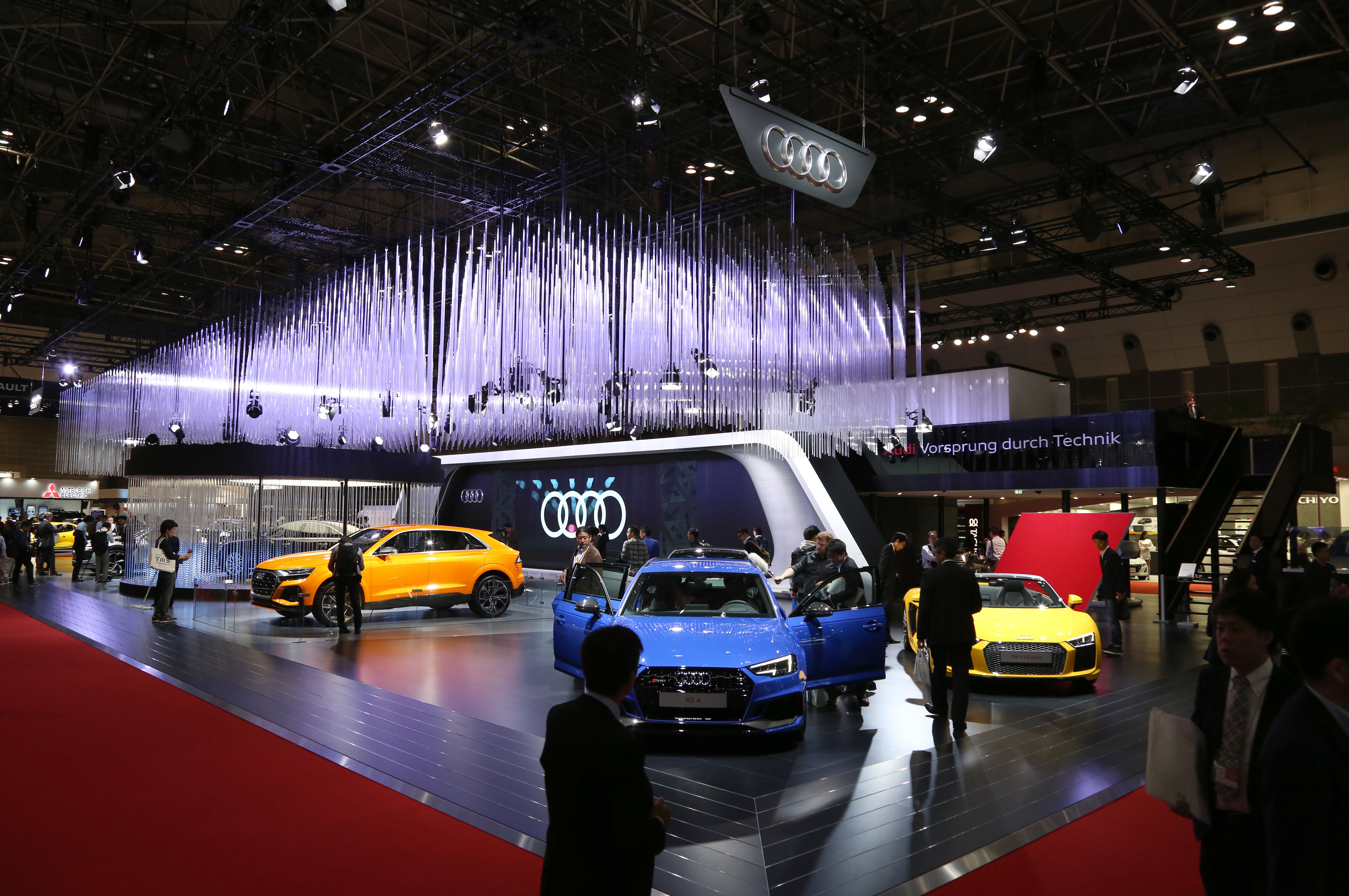 Tokyo Motor Show 2017  Featuring: Audi Where: Tokyo, Japan When: 25 Oct 2017 Credit: Yukio Tomita/Future Image/WENN.com  **Not available for publication in Germany**