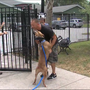 Formerly homeless man reunites with dog, starts new chapter