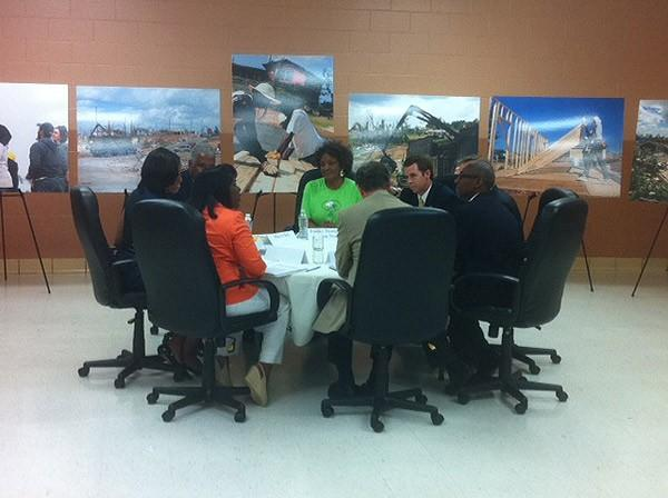 1st Lady meeting with Bham City Leaders