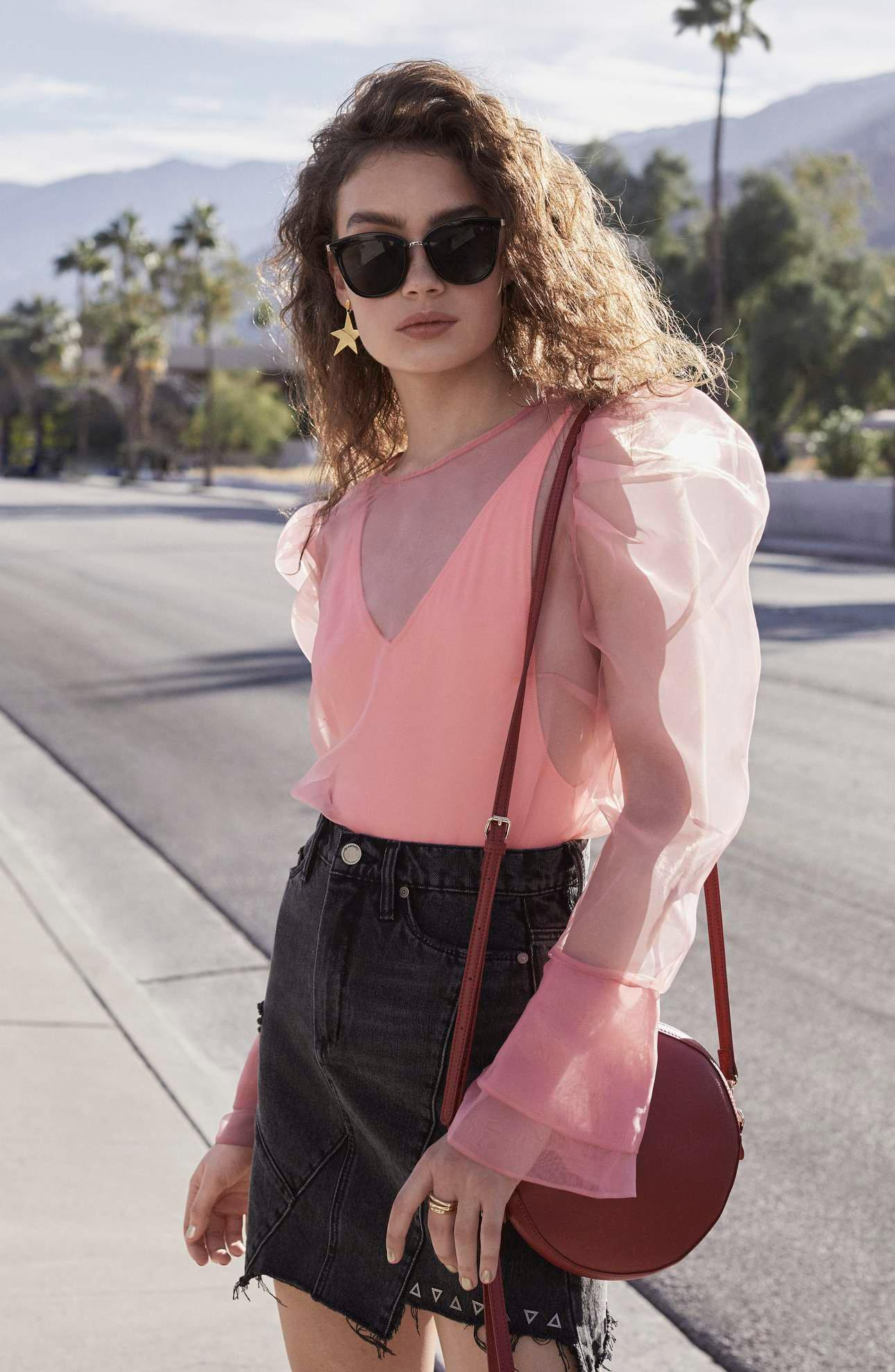 Romantic dressing gets assertive for spring. Florals are bright, silhouettes are cropped, and distressed denim goes high shine. Even the season's hottest round bag is declaring itself. Go BOLD or go home this Spring!!!! (Image: Nordstrom){&nbsp;}<p></p>