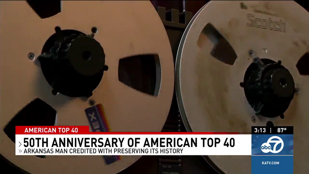 Arkansas man preserving American Top 40 music history