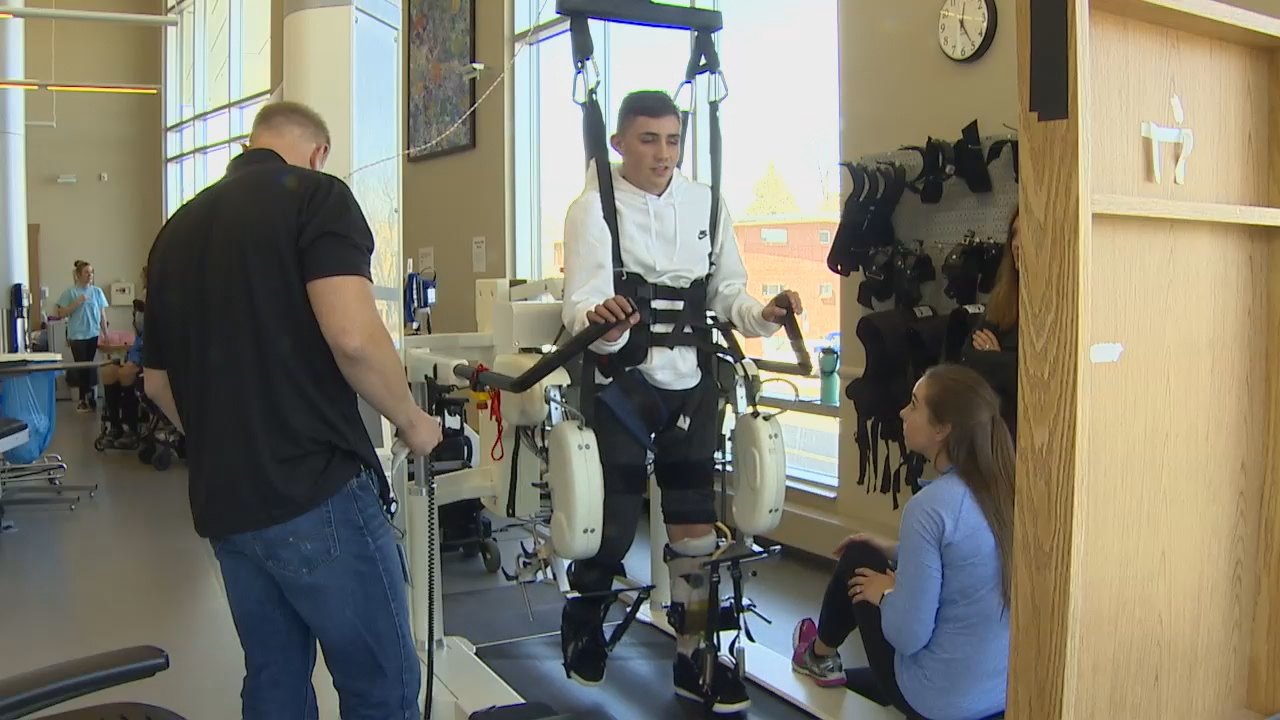 Months after Timmy Brodigan nearly died{ }aboard an Amtrak train, the 16-year-old is taking incredible steps on his long road to recovery. (KOMO News){ }