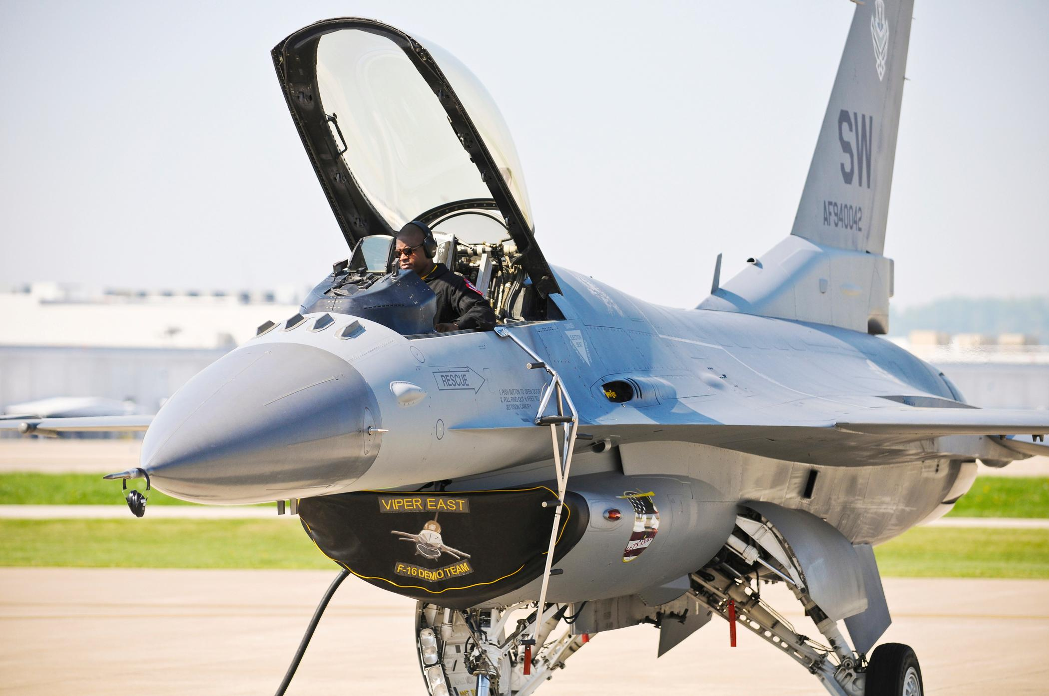 U.S. Air Force F-16 Viper  (U.S. Air Force photo/Senior Airman Maxwell A. Rechel)