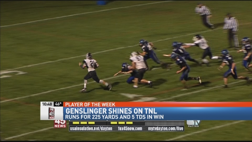 Donatos POTW - Week 9: Valley View's Collin Genslinger