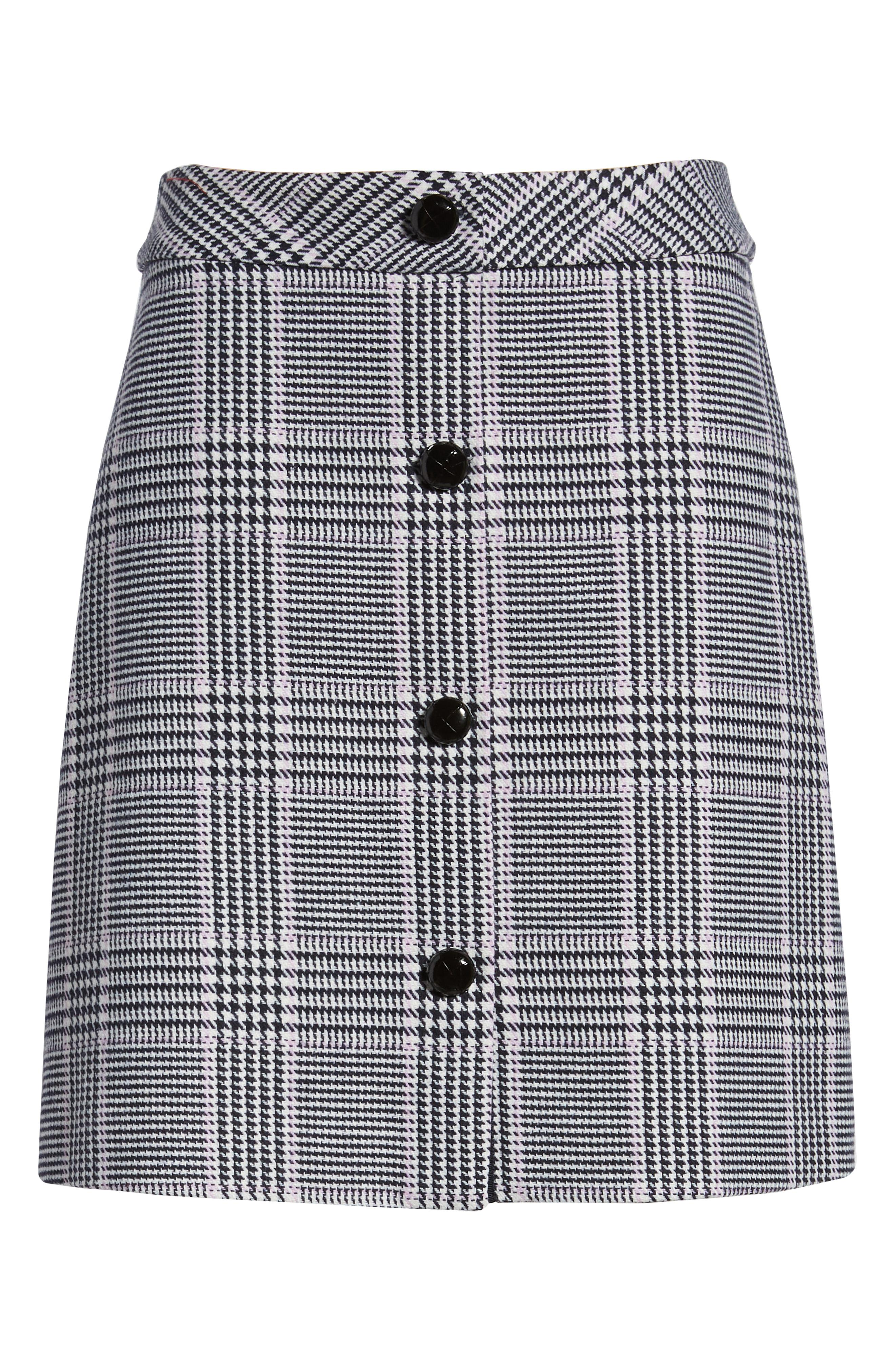 1901 Button Front Houndstooth Skirt -- Sale: $49.90 / After Sale: $79{ }(Image: Courtesy Nordstrom)