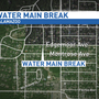 Cold weather causes water main break in Kalamazoo neighborhood