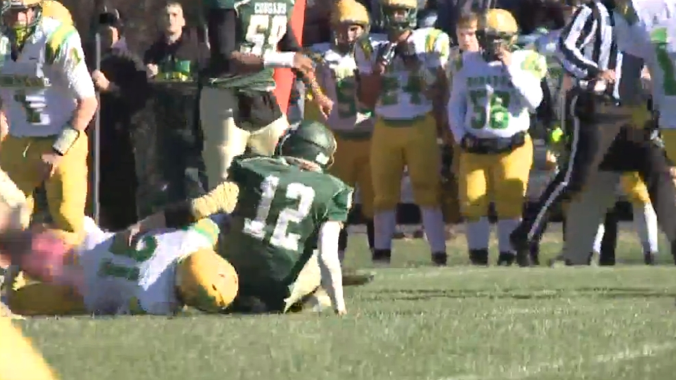 11.14.15-High School Football-  East Hardy scores 23 unanswered to end Donahue's season